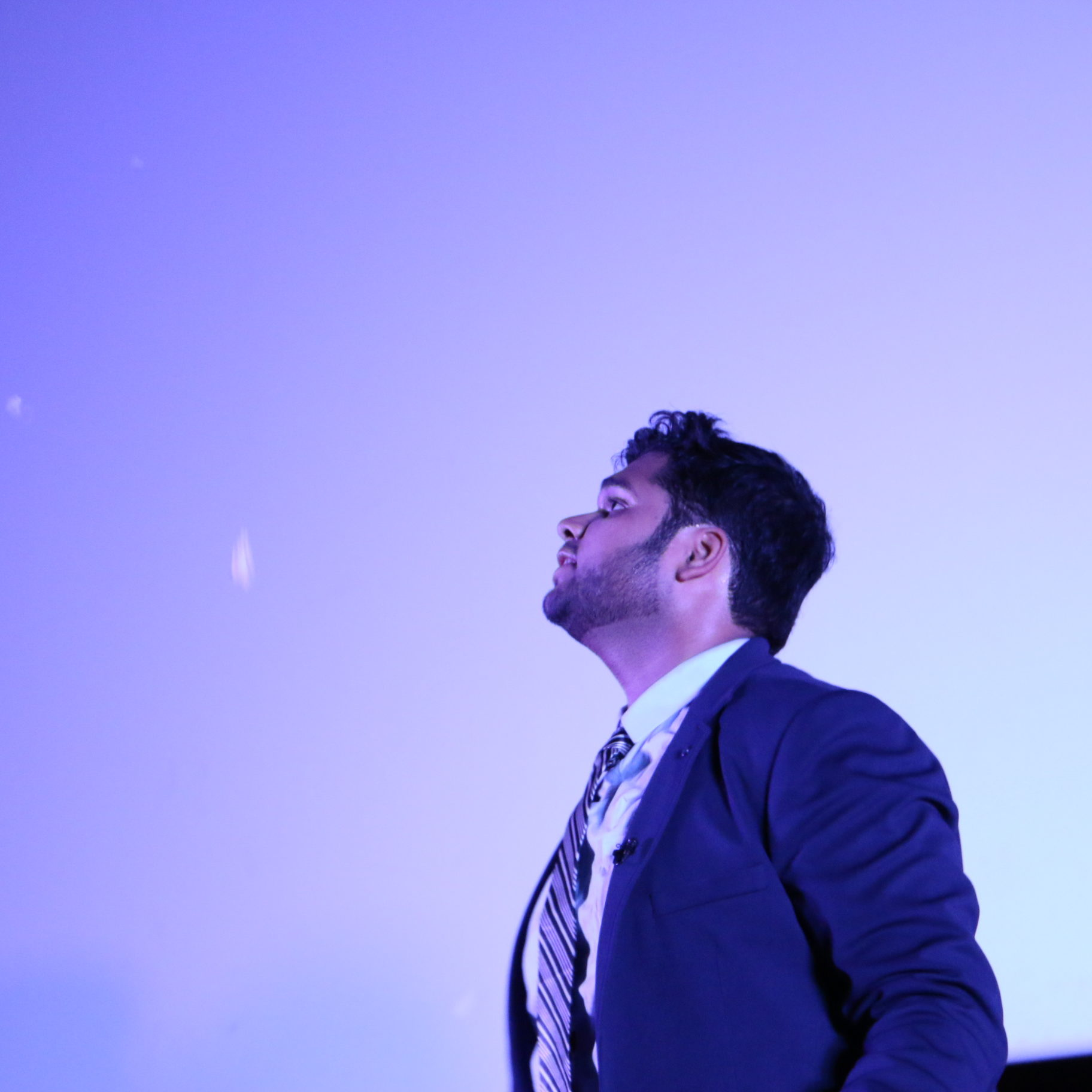 Kshitij Choudhary Performing
